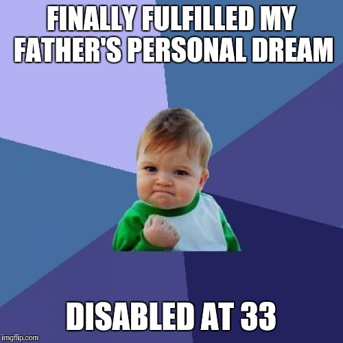 "How he ""ached"" for that government check 