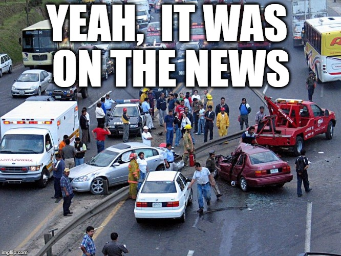 YEAH,  IT WAS ON THE NEWS | made w/ Imgflip meme maker