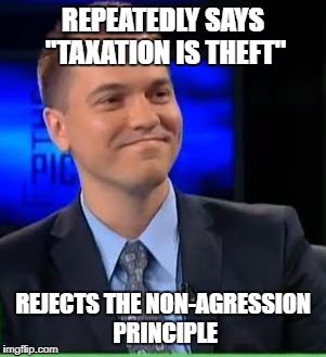 "Wtf Petersen | REPEATEDLY SAYS ""TAXATION IS THEFT"" REJECTS THE NON-AGRESSION PRINCIPLE 