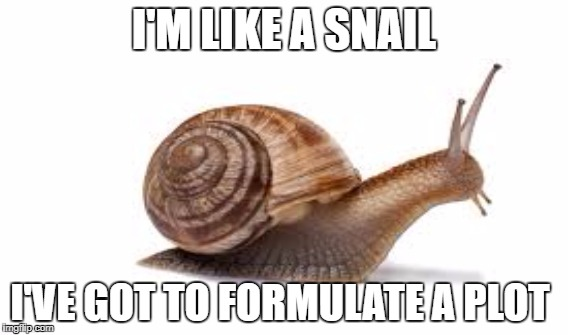 I'M LIKE A SNAIL I'VE GOT TO FORMULATE A PLOT | image tagged in eminem | made w/ Imgflip meme maker