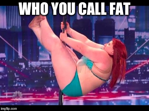 WHO YOU CALL FAT | made w/ Imgflip meme maker