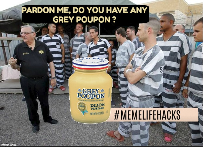Pardon Me | image tagged in pardon,pardon me,sheriff | made w/ Imgflip meme maker