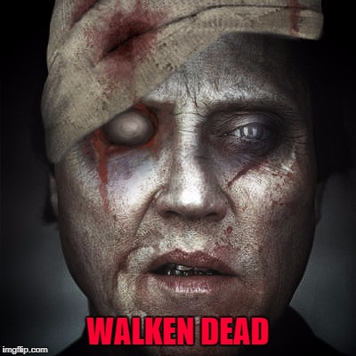 WALKEN DEAD | made w/ Imgflip meme maker