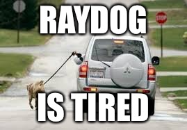 RAYDOG IS TIRED | made w/ Imgflip meme maker