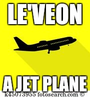 LE'VEON A JET PLANE | image tagged in fantasy football | made w/ Imgflip meme maker