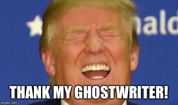 THANK MY GHOSTWRITER! | made w/ Imgflip meme maker