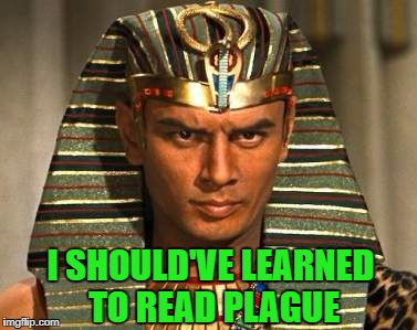 I SHOULD'VE LEARNED TO READ PLAGUE | made w/ Imgflip meme maker