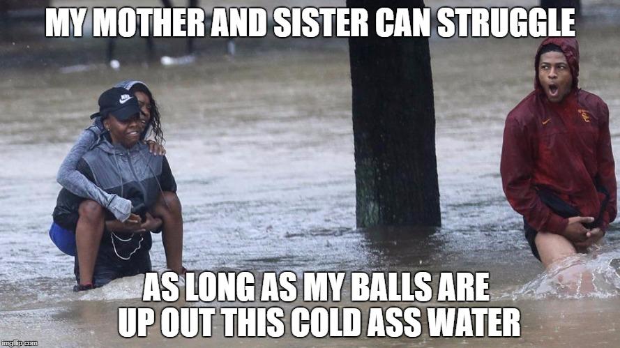 Houston is Flooding Balls