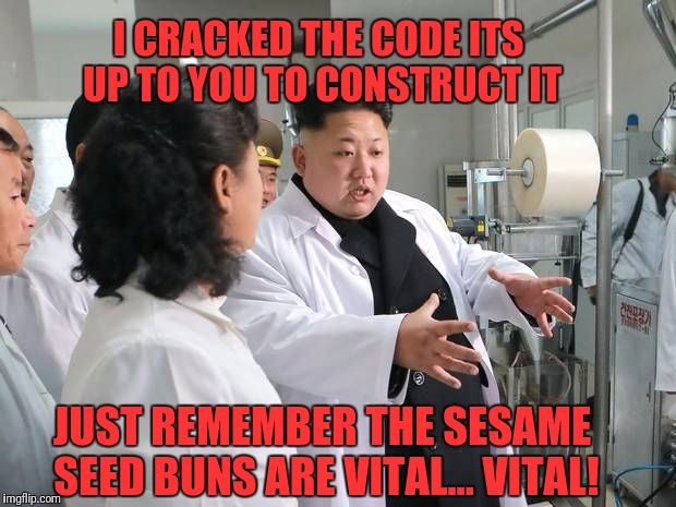 """Two all -beef patties, special sauce, lettuce, cheese, pickles...""  