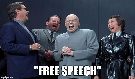 """FREE SPEECH"" 