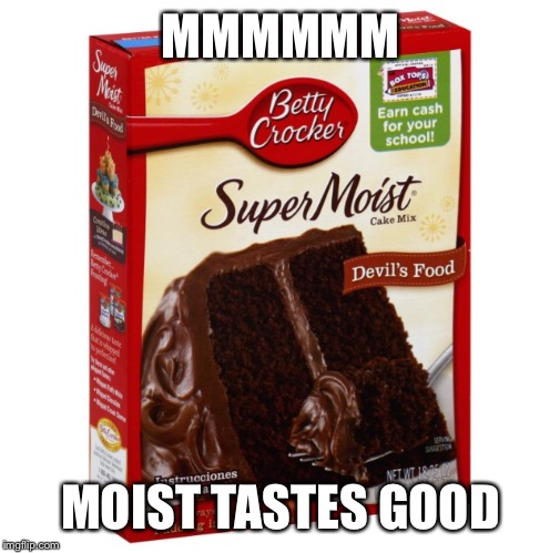 MMMMMM MOIST TASTES GOOD | made w/ Imgflip meme maker