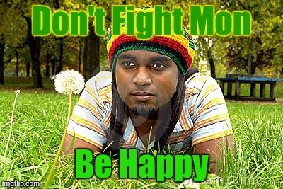 Memes | Don't Fight Mon Be Happy | image tagged in memes | made w/ Imgflip meme maker