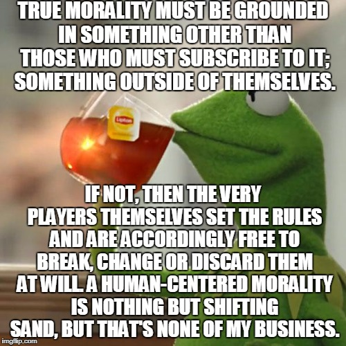 "The Biggest Joke In The Cosmos: The ""Supremacy"" Of Humanity 