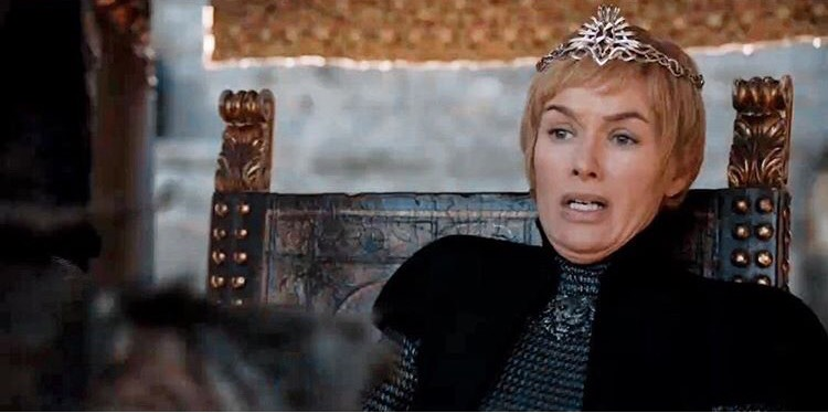 Scared Cersei Blank Template - Imgflip