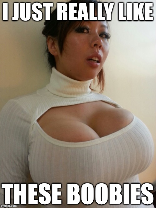 I JUST REALLY LIKE THESE BOOBIES | image tagged in memes,big boobs,boobies,titties,big tits | made w/ Imgflip meme maker