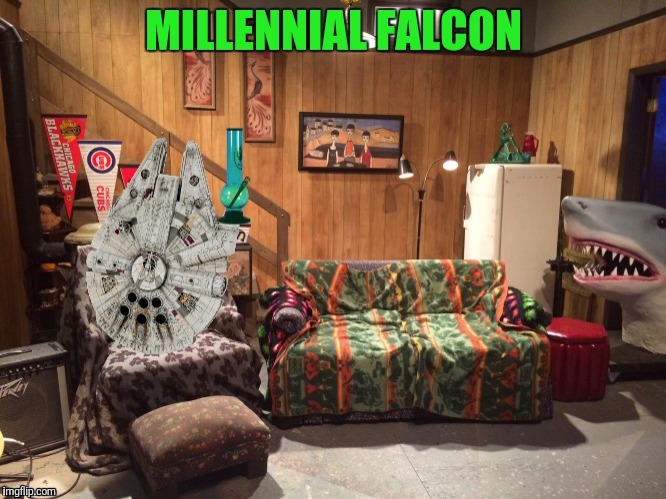 MILLENIAL FALCON | made w/ Imgflip meme maker
