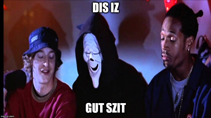 DIS IZ GUT SZIT | image tagged in how high | made w/ Imgflip meme maker