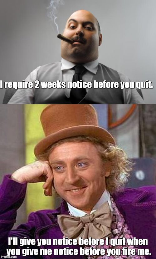 """'At-will' employment"" works both ways 