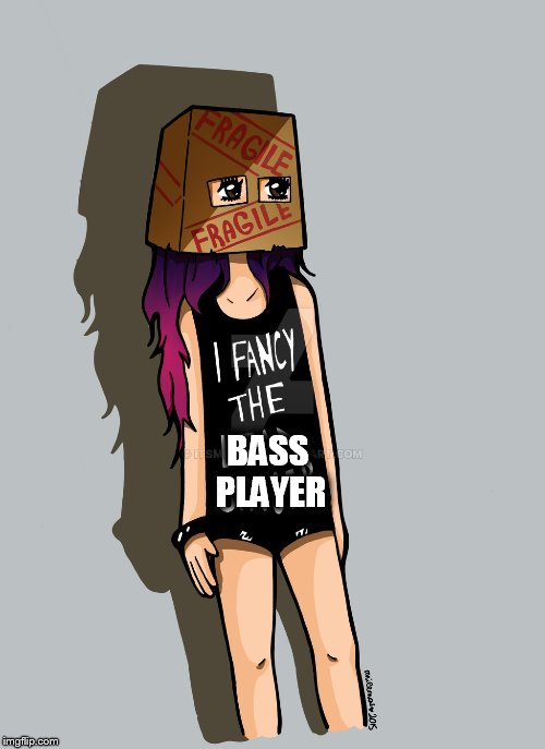 Inspired by KenJ (per request) | BASS PLAYER | image tagged in memes,kenj,followers,bass,player,all about that bass | made w/ Imgflip meme maker