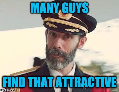 Captain Obvious | MANY GUYS FIND THAT ATTRACTIVE | image tagged in captain obvious | made w/ Imgflip meme maker