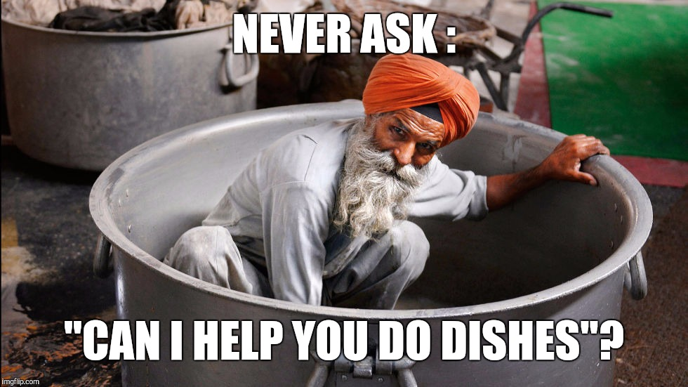 "Especially At Corn Chowder Season  | NEVER ASK : ""CAN I HELP YOU DO DISHES""? 