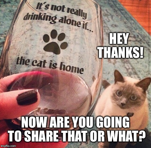 HEY THANKS! NOW ARE YOU GOING TO SHARE THAT OR WHAT? | made w/ Imgflip meme maker