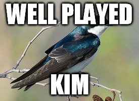 WELL PLAYED KIM | made w/ Imgflip meme maker