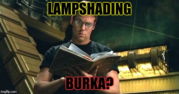 LAMPSHADING BURKA? | made w/ Imgflip meme maker