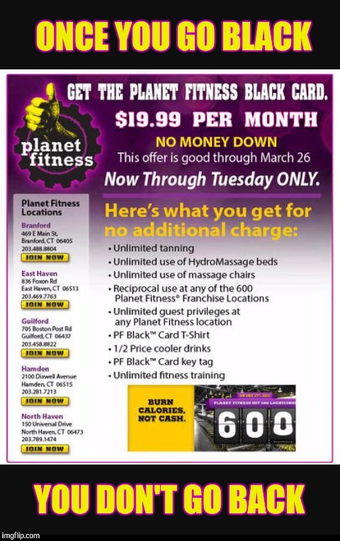 black card guest planet fitness
