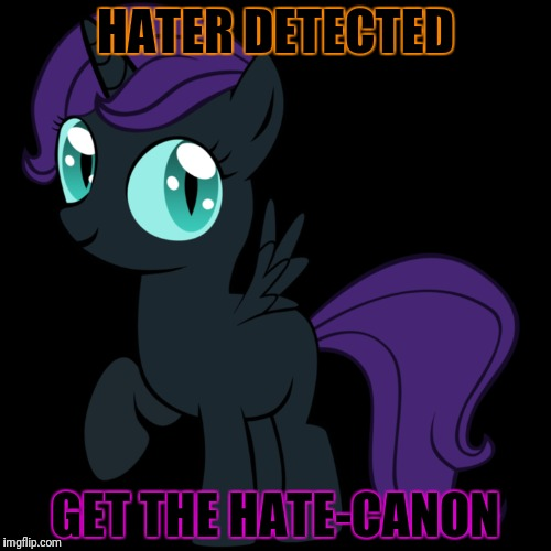 HATER DETECTED GET THE HATE-CANON | made w/ Imgflip meme maker