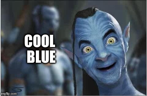 COOL BLUE | made w/ Imgflip meme maker