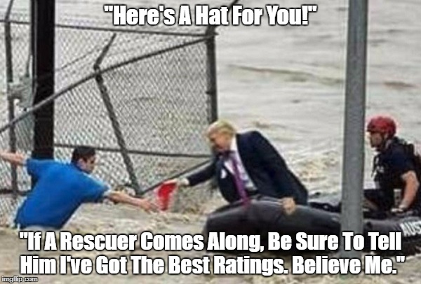 """Trump Reaches Out To Flood Victim In Houston"" 