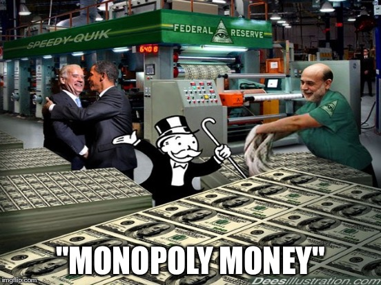 """MONOPOLY MONEY"" 