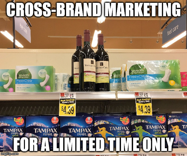 Nothing lasts forever | CROSS-BRAND MARKETING FOR A LIMITED TIME ONLY | image tagged in women's issues and women's solutions,women,humor,marketing,supermarket | made w/ Imgflip meme maker