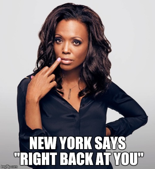 "Aisha Tyler  | NEW YORK SAYS ""RIGHT BACK AT YOU"" 