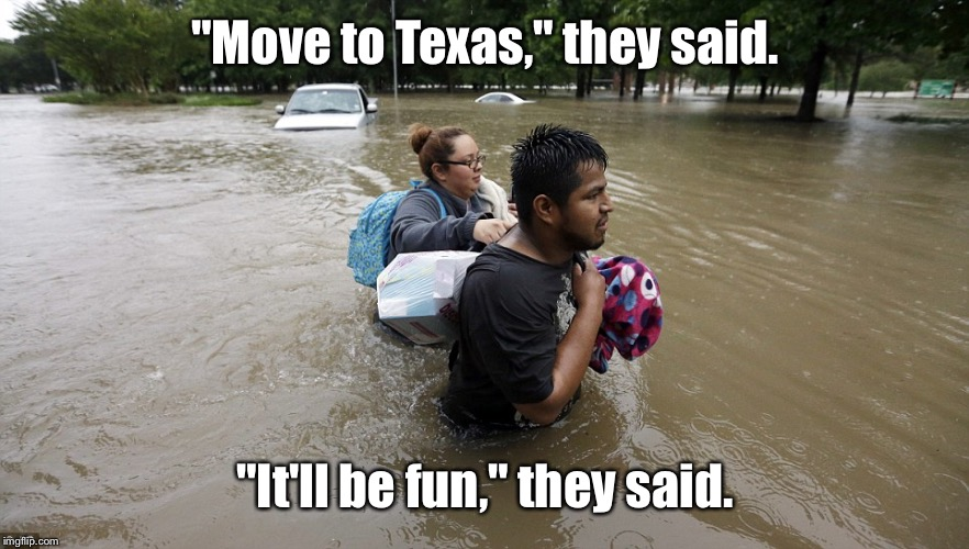 "Hey congress, how was your month long recess off? | ""Move to Texas,"" they said. ""It'll be fun,"" they said. 