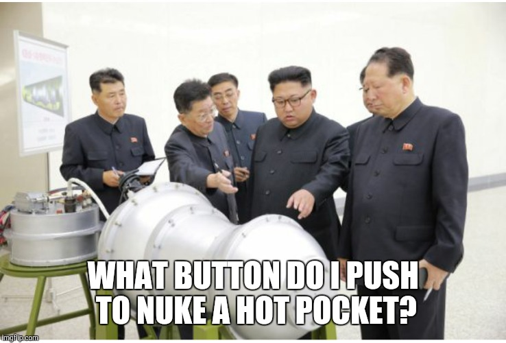 WHAT BUTTON DO I PUSH TO NUKE A HOT POCKET? | image tagged in hot pockets | made w/ Imgflip meme maker