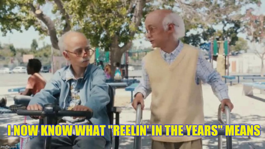 "I NOW KNOW WHAT ""REELIN' IN THE YEARS"" MEANS 