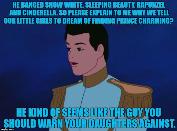 Prince Charming en Snow White dating