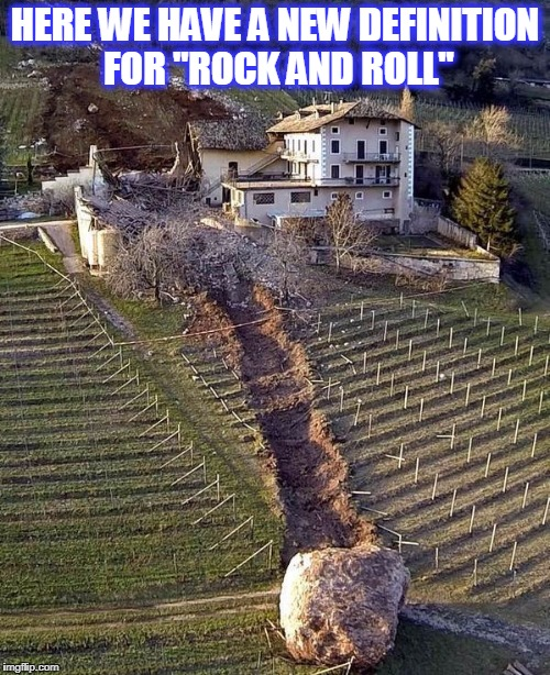 "rock n roll | HERE WE HAVE A NEW DEFINITION FOR ""ROCK AND ROLL"" 