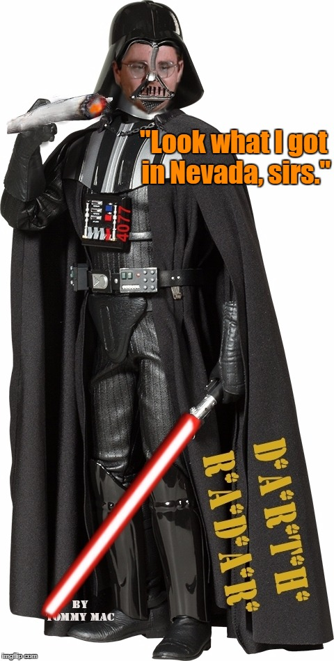 "Walter is moving to Las Vegas. | ""Look what I got in Nevada, sirs."" 