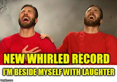 NEW WHIRLED RECORD | made w/ Imgflip meme maker