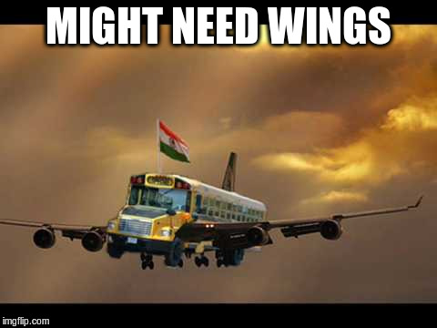 MIGHT NEED WINGS | made w/ Imgflip meme maker