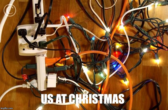 US AT CHRISTMAS | made w/ Imgflip meme maker