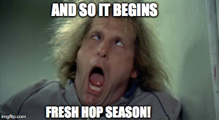 Scary Harry Meme | AND SO IT BEGINS FRESH HOP SEASON! | image tagged in memes,scary harry | made w/ Imgflip meme maker
