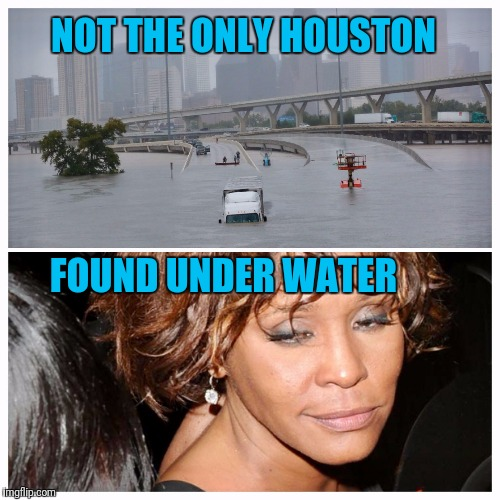 The Big Gulp | NOT THE ONLY HOUSTON FOUND UNDER WATER | image tagged in houston | made w/ Imgflip meme maker