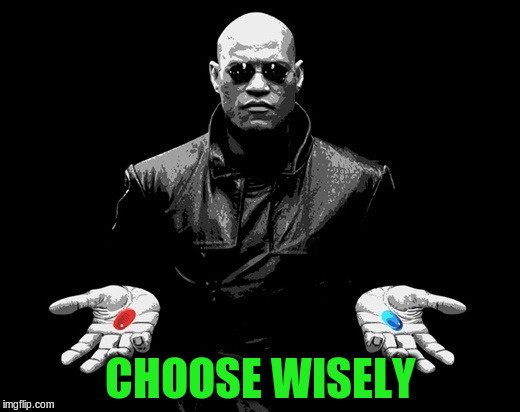 CHOOSE WISELY | made w/ Imgflip meme maker
