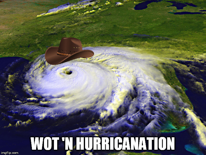 WOT 'N HURRICANATION | made w/ Imgflip meme maker