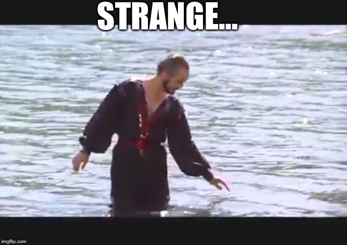 Zod | STRANGE... | image tagged in zod | made w/ Imgflip meme maker