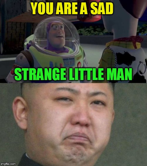 YOU ARE A SAD STRANGE LITTLE MAN | made w/ Imgflip meme maker